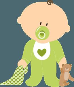 petit garçon avec son ourson